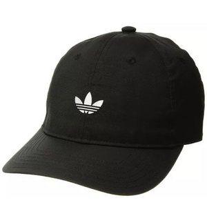 ADIDAS Relaxed Modern Trefoil Black White Hat